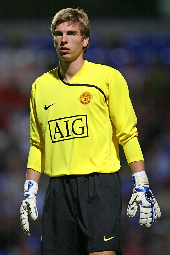 ron robert zieler manchester united
