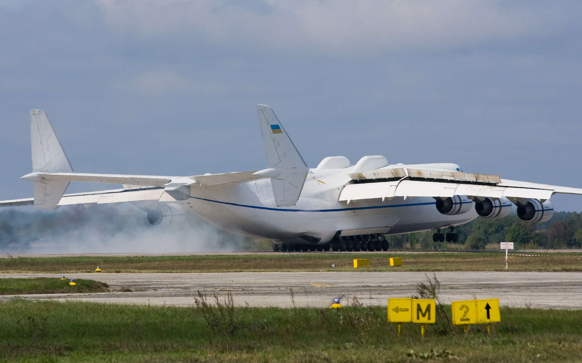 Antonov An-225 Mriya Size Comparison