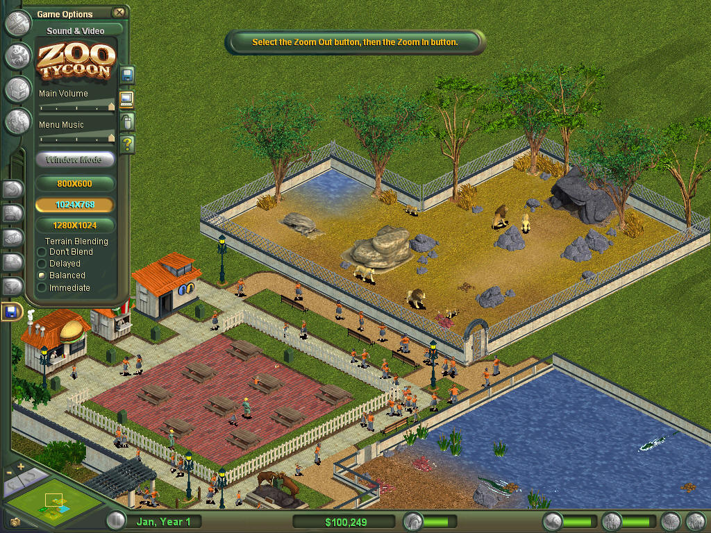 Zoo tycoon 54079 uluda s zl k galeri for 4 1 architecture example