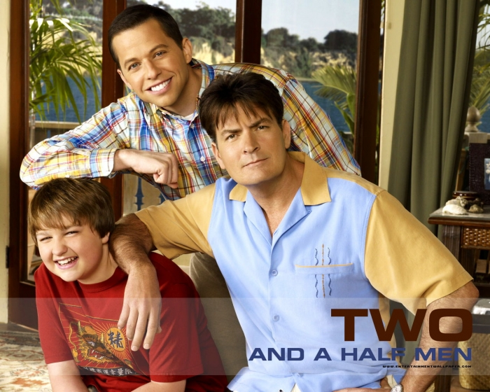 two and a half men resim 1