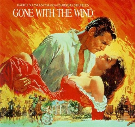 gone with the wind resim 3
